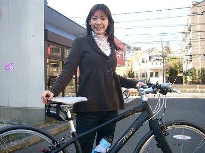 トレックの女性用クロスバイク ...