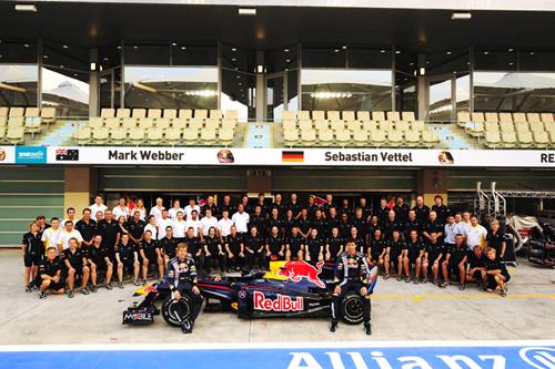 カシオ、F1チーム「Red Bull Racing team」のオフィシャルパートナーに