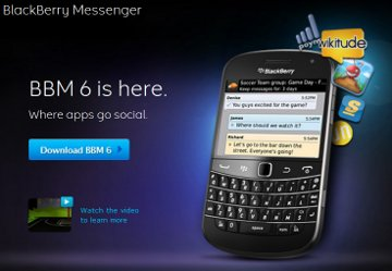 RIM、BlackBerry Messenger最新...