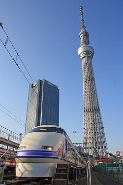 東京スカイツリータウン開業に合わせ、浅草・押上~東武動物公園間の愛称が「東武スカイツリーライン」に