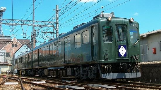 """伊賀鉄道860系ついに引退! 7/8にダークグリーン塗装車""""さよなら運転 ..."""