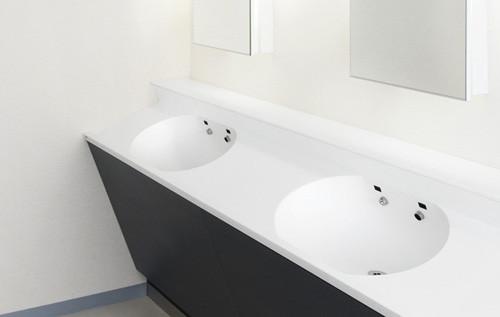 使いやすさを充実させたパブリック洗面「ノセルカウンター スラント」発売