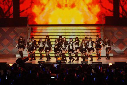AKB48、NMB48、SKE48が総勢55人...