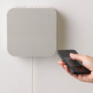 無印良品からスマホで音楽再生可能な「壁掛式Bluetoothスピーカー」