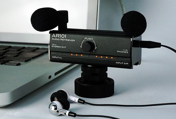 フォステクス、iPhone/iPadに対応したオーディオIF「AR101」を発表