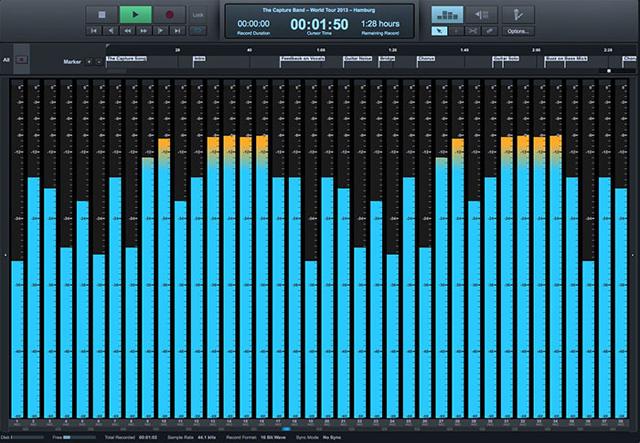 Presonus、無料のライブレコーディング用ソフト「Capture 2」を発表