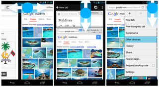 Android版「Chrome 30」ベータ版公開、ジェスチャー機能を強化