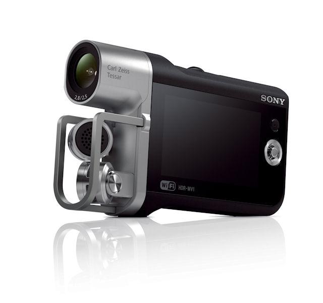 image:ソニー、音楽演奏の動画撮影に最適な高音質ビデオレコーダー「HDR-MV1」
