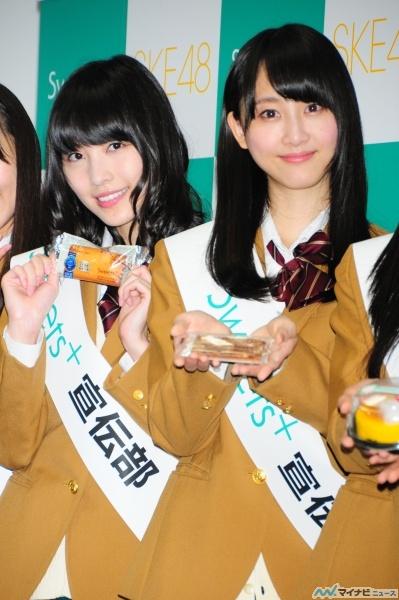 珠理奈(16) お得意ダジャレで呼び掛け「当ててくだサイン!」 …SKE48がファミマでキャンペ-ン 019l 芸能ニュース