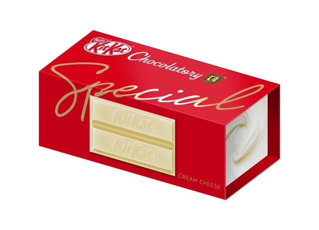 image:東京都池袋の「ネスレ キットカット」専門店に新味「クリームチーズ」登場!