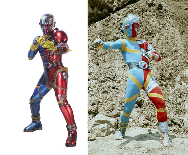 new design of public Kikaider & Hakaider that inherits from