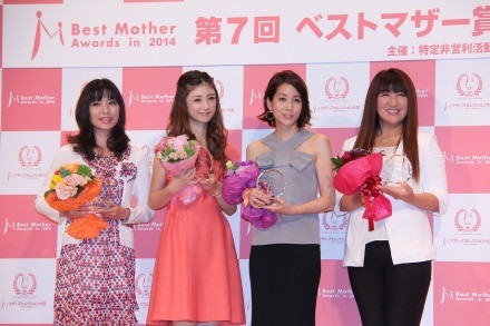 小倉優子、「ベストマザー賞」受賞 将来は息子に「コリン星も真面目に ...