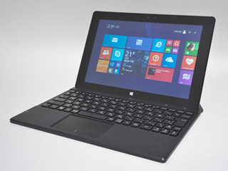 Office Home and Business付属で5万円台のWindowsタブレット「m-Tab iCE1000WN-BG」