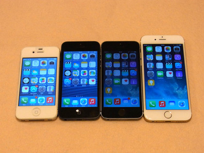 iPhone 4S、5、5sでiOS 8はどれ...