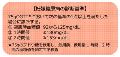 診断 基準 糖尿病 妊娠