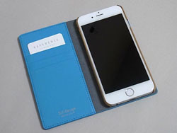02f630d71c シンプルで美しい「SLG Design D5 Calf Skin Leather Diary」。iPhone 6/6 Plus用があります