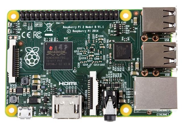image:RSコンポーネンツ、クアッドコアCPUの第2世代「Raspberry Pi 2」を販売開始