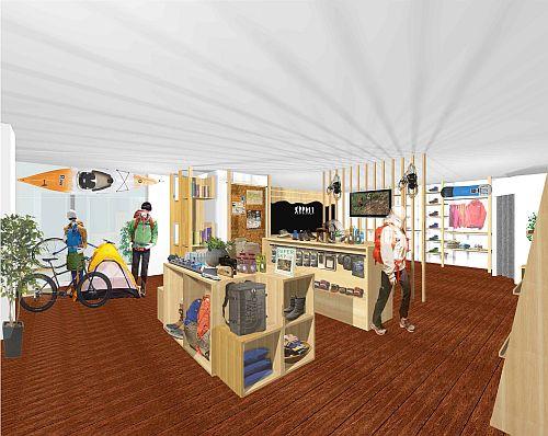 JR飯山駅、1階自由通路に「アクティビティセンター」など4施設がオープン!