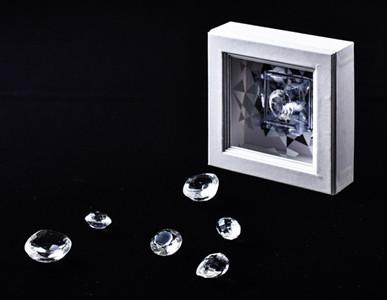 ダイヤと同じカットのあめ「スイートジュエル」が発売