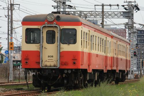 水島臨海鉄道キハ20形205号、4月から臨時運転を開始