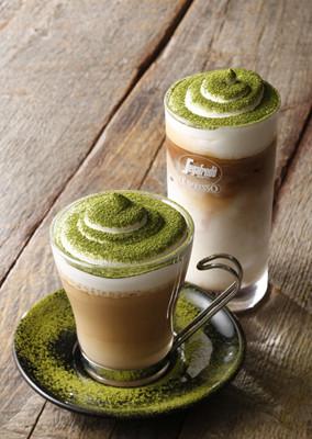 セガフレード、「抹茶カフェラテ」など初の抹茶ドリンクを2種類発売