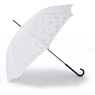雨に濡れると猫が現われる傘