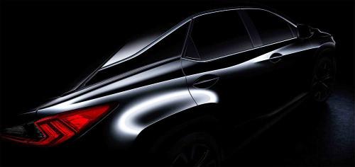 レクサス新型RX、ニューヨークモーターショーで世界初公開