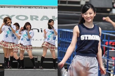 NMB48、南国ビーチでライブ披露! 山田菜々・上西恵らランウェイにも挑戦