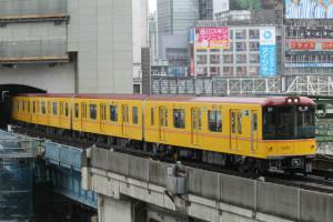 東京メトロ銀座線1000系導入進む、方南町駅ホーム延伸