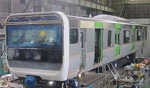 E235系、山手線新型通勤電車は「sustina」大都市向け通勤車両の量産型第1号