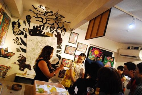 神奈川県横浜市で個性的な日本を表現した「JAPANESE FOOL展」開催