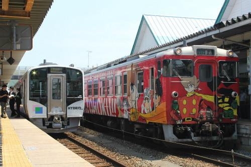 石巻線マンガッタンライナー5/31ラストラン! 遠藤正明と行くアニソン列車に