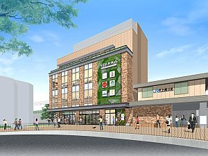 JR西日本、甲子園口駅の駅舎改良工事終了へ - 7/7「ビエラ甲子園口」OPEN!