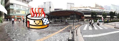 東京都・有楽町駅前で超巨大なOモンクレール 2015 ベストKB48開催!? 48種ドリンクにから揚げカーも