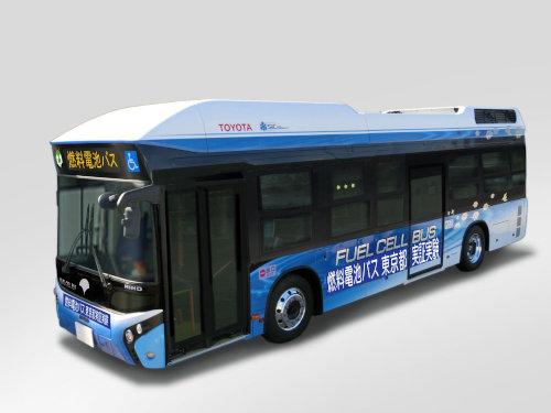 トヨタ自動車と日野自動車は24~30日、東京都において燃料電池バス(FCバス)の実証実験を実施する。