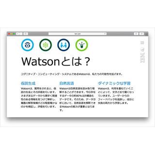 データを集めて「発明」するコンピュータ「ワトソン」とは (1) Google ...