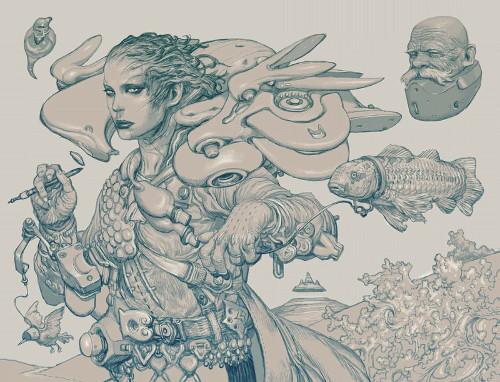 あの寺田克也の大個展をリニューアル!「寺田克也ココ12年展」に襖や屏風も