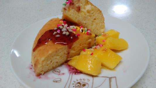 炊飯 器 で パン ケーキ
