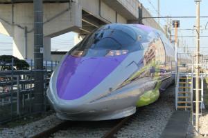 エヴァ新幹線「500 TYPE EVA」毎日運転ではないので要注意! 冬の運転日は?