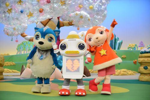 おかあさんといっしょ新キャラトリオ登場 歴代初のロボットがメイン