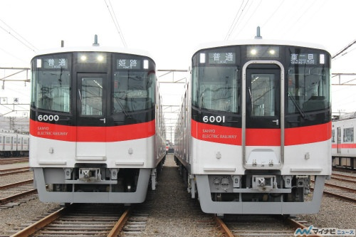 山陽電気鉄道6000系、新型車両を...