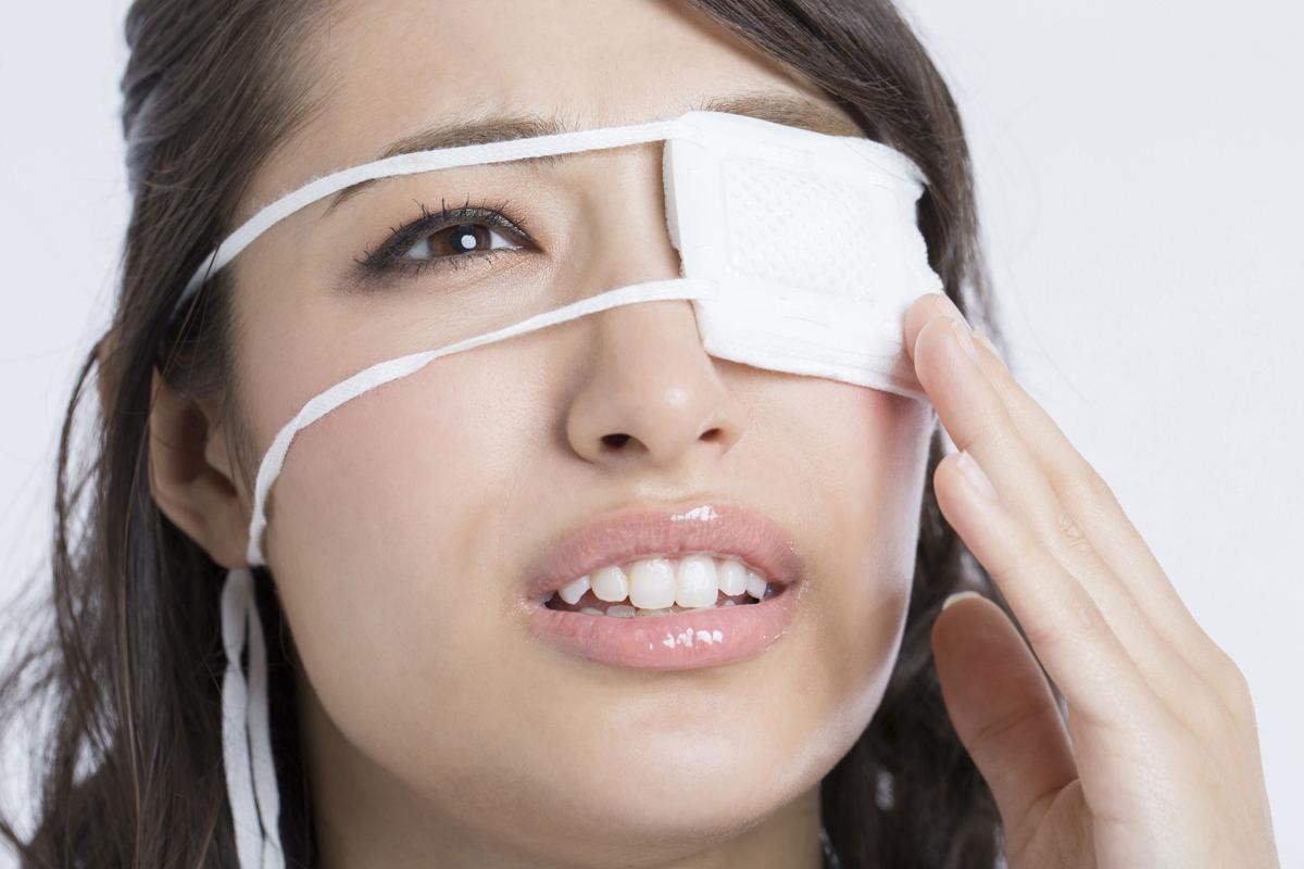 ものもらいによる眼帯がうらめしいシチュエーションもある