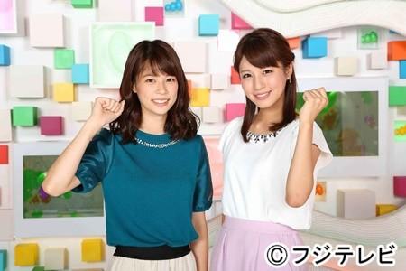 鈴木唯と堤礼実アナの2ショット写真