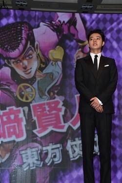 『ジョジョ』実写映画が2017年夏公開決定、原作・荒木飛呂彦氏「誠に光栄」