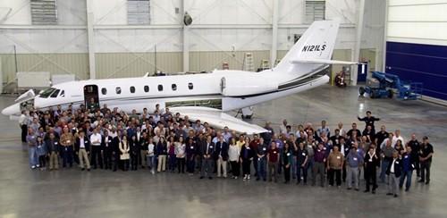 MRJ、北米フェリーフライト完了-...
