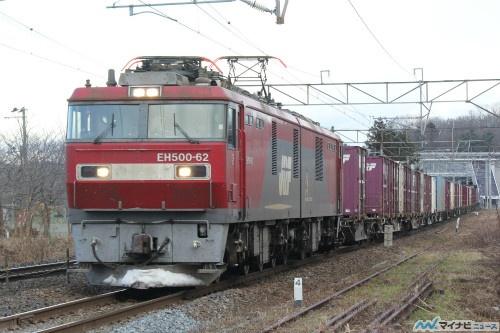 JR貨物、年末年始期間の貨物列車...