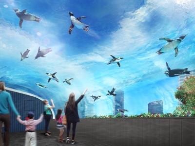 「サンシャイン水族館」大規模リニューアル! ペンギンが空を飛ぶ展示も