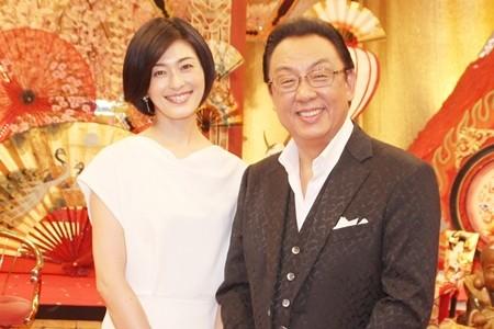 梅沢富美男と阿部哲子の画像