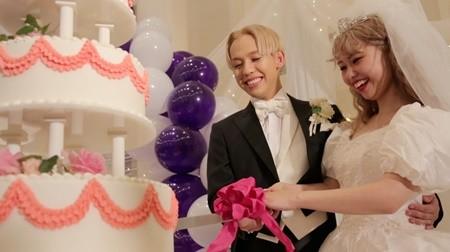 ぺこ\u0026りゅうちぇるの結婚式独占映像『行列』で公開 , ブーケはぺえが奪取