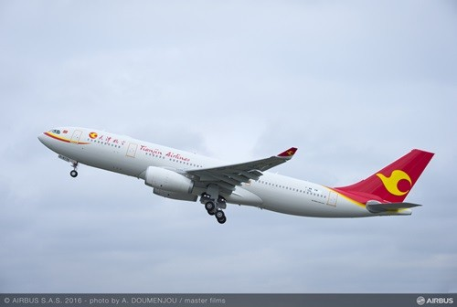 エアバスは9月20日(中国・天津)、中国の天津にエアバスA330コンプリーション&デリバリー・センター(C&DC)を開設したことを発表した。また同日、C&DCからA330が天津航空に引き渡された。